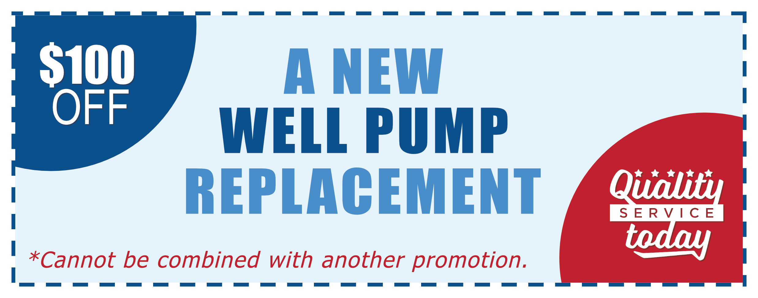 new well pump replacement